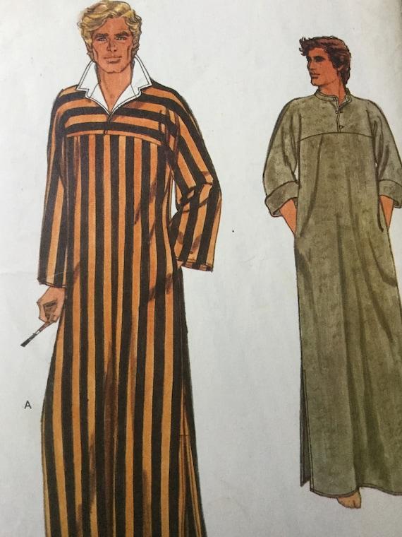 Sewing pattern for men, men\'s kaftan pattern, Vogue Kaftan Pattern ...