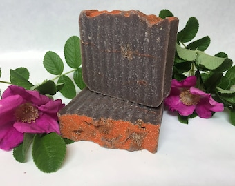 Natural homemade soap, handcrafted soap, Cold process soap, Chocolate Indulgence