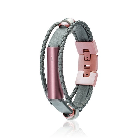Misfit Ray Bracelet Fusion - Grey / Rose