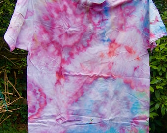 Tie Dyed Cotton T-shirt,  Size:  3XL                                                                                     9