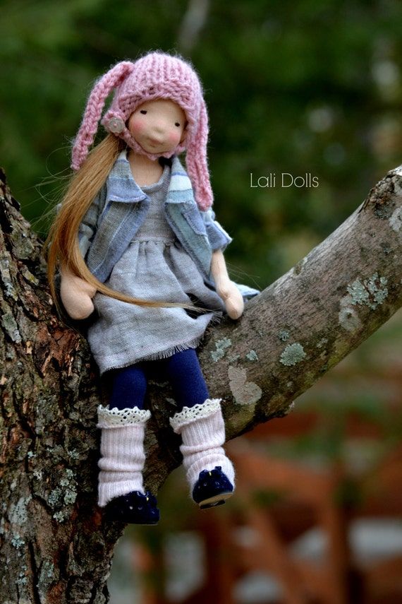 Kit and PDF Pattern for Rosy Posy Doll