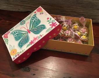 Hersheys Hugs & Kisses Pretzel Mothers Day Gift Box