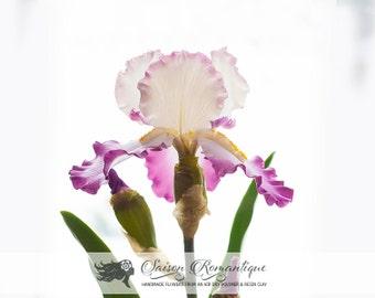 Iris - Polymer Clay Flowers