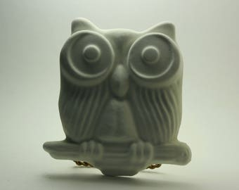 Handmade - Paint Your Own Plaster Owl - Wall Hanging - Paper Weight - Gift - Book End - Made in Medina, Ohio, USA!