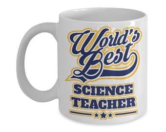 Worlds Best Science Teacher 15oz. Mug - Teacher Appreciation Week Gift