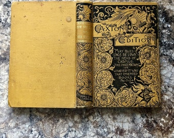 RESERVED Rare Book Caxton Edition 1878 Victorian Romance How She Came Into Her Kingdom Antiquarian 1st First Edition Novel Charlotte M Clark