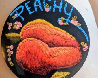 Peachy Bum Sticker