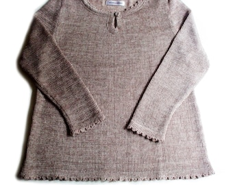 Women's linen long sleeve top/tunic/sweater/tshirt/sweater shirt/tank top/vest/pullover