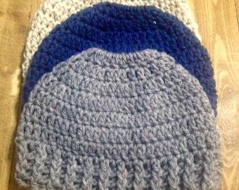 Crochet Running Hat, Running Hat, Crochet Ponytail Hat, Messy Bun Hat, Ponytail Hat, Bun Hat, Hat For Ponytails, Hat for Messy Bun