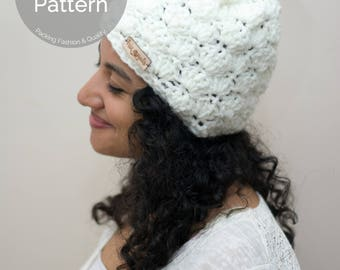 PATTERN // Shells Hat Pattern // Crochet Pattern // Crochet Hat // Shells Stitch Pattern