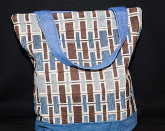 tote bag, reversible tote, eco friendly, up-cycled, fun and function