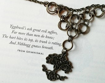 Yggdrasil Chainmaille Necklace