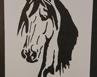 Horse Head Custom Stencil FAST FREE SHIPPING