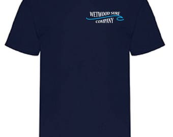 Mens Wetwood T-shirt- Logo on Backside also