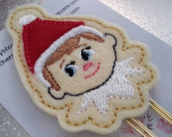 Shelf Elf Christmas Paper Clip