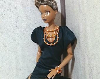 Artfrica doll jewelry