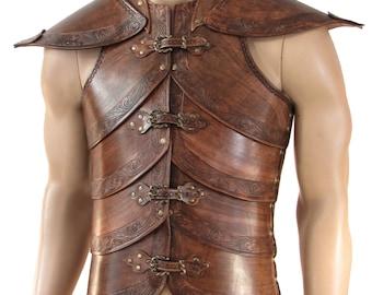Hard leather ARMOR for man, Wood Elf  worrior, six colors