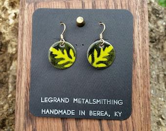 Ambrosia enamel earrings