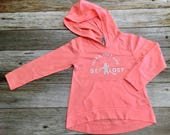 "Girls Hoodie with ""Take A Hike and Get Lost"" ..."