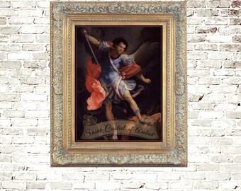 Saint Castiel of Assbutt - Alternative Saints Original Artwork 5x7 Art Print