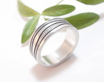 Sterling Silver Ring, Sterling Ring, Mens Ring Mans Ring