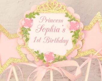 princess party centerpiece - princess party decorations sticks - princess shower decorations - princess 1st birthday centerpiece - princess