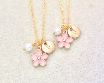 Personalized fower girl gift for flower girl necklace toddler flower girl little girl gifts custom flower girl gift flower girl proposal