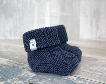 Knit Booties, Baby Boy Boots, Boy Gender Reveal Idea, Baby Boy Booties, Newborn Boy Shoes, Baby Crib Shoes, Infant Boy Coming Home Outfit