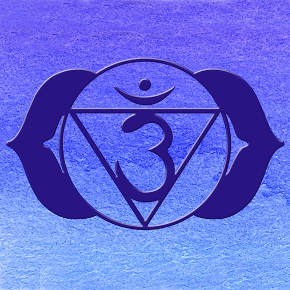 Chakra Art Ajna 6th Chakra Symbol Meditation