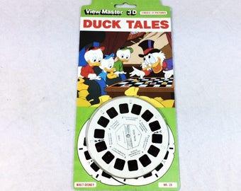 DuckTales ViewMaster Set - Walt Disney Viewmaster - Vintage Walt Disney View Master - ViewMaster - Duck Tales Scrooge McDuck