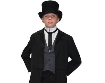 Children's Inspired Andrew Jackson Costume - Famous Presidents and Historical Figures Costumes - Kids 19th Century Victorian Period Clothing