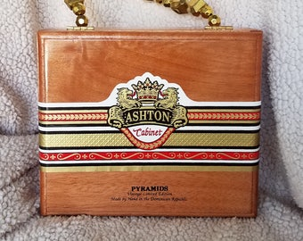 Cigar Box Purse Ashton Cabinet (gold)