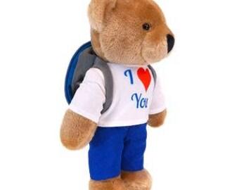 Gift Giving Teddy Bear