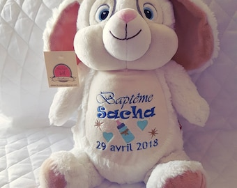 Teddy rabbit 35 cm choose personalized embroidery