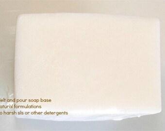 Castile Soap Melt and Pour Soap Base 1 Lb Wrapped