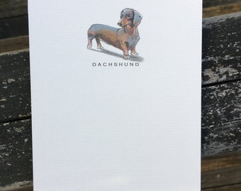 Dachshund Dog Note Card Set