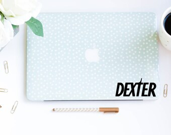 Dexter Decal Computer Decal, Car Decal, MacBook Decal