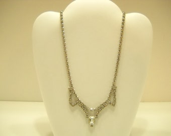 Gorgeous Clear Rhinestone Choker Necklace (4178)