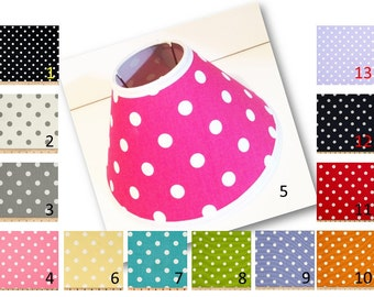 Polka dot lamp shade etsy search results favorite favorited add to added polka dot print lamp shade aloadofball