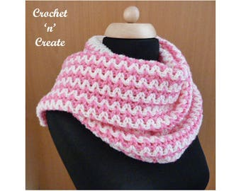 Crochet Zig Zag Wrap Crochet Pattern (DOWNLOAD) CNC102