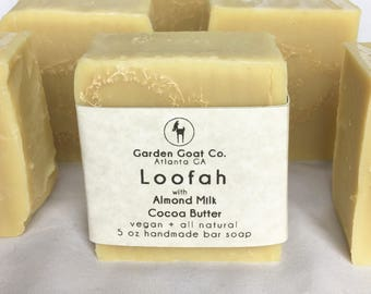 only 1 left! Loofah with Almond Milk and Cocoa Butter