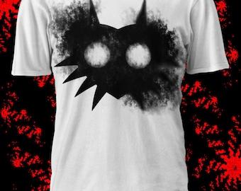 Majora's Mask Ink Tshirt - Legend of Zelda