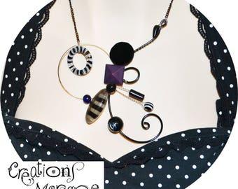 choix de colliers sculpturaux  /choice of sculptural necklace