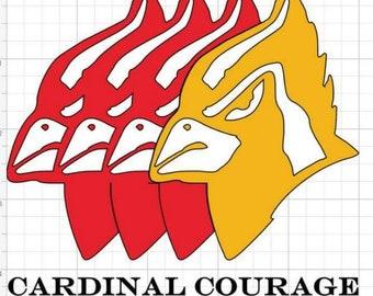 Cardinal Family decal