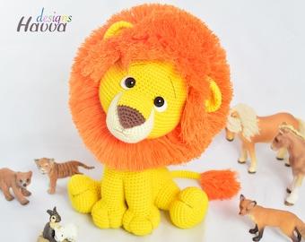 Crochet Pattern - Lion Amigurumi (Amigurumi Doll Pattern)