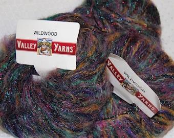 Yarn, Viscose, Mohair, Metalic, Polyester Yarn, Sale Yarn, 3.50 oz., 196 Yards, Teal, Purple, Black, 3 skeins, Sale Price