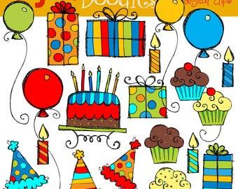 KPM Basic Birthday Bash Digital Clip Art