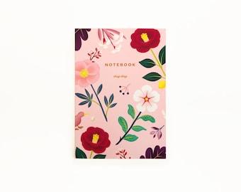Garden Bloom Notebook - Blush