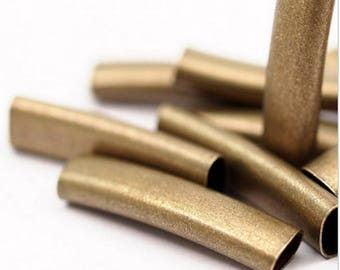 Brass with an oval tube