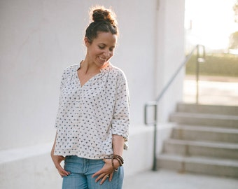 Matcha Top Women's PDF Sewing Pattern